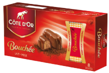 Cote d'Or Bouchee Milk Chocolate Praline Elephant 8pk